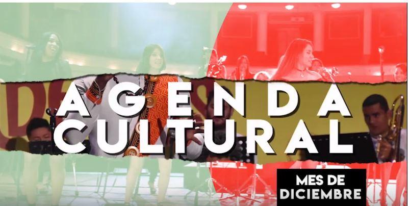 ¡La última agenda cultural del año!