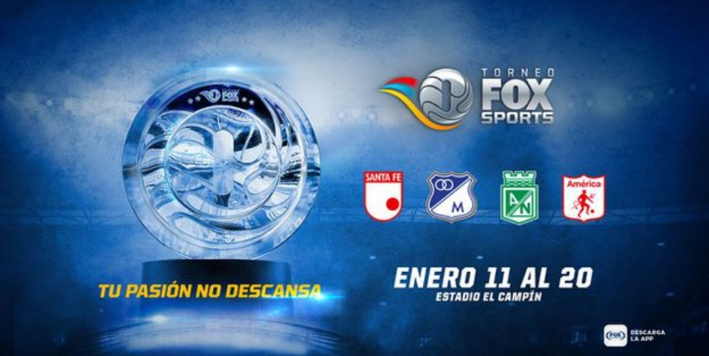 El ABC del Torneo Fox Sports Colombia 2019