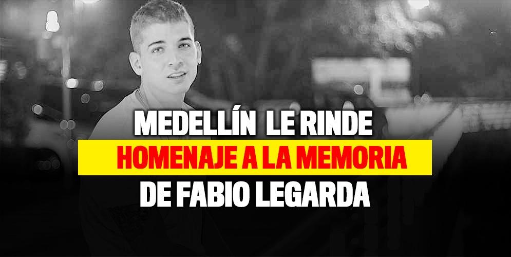 Así le rinden homenaje a la memoria de Fabio Legarda