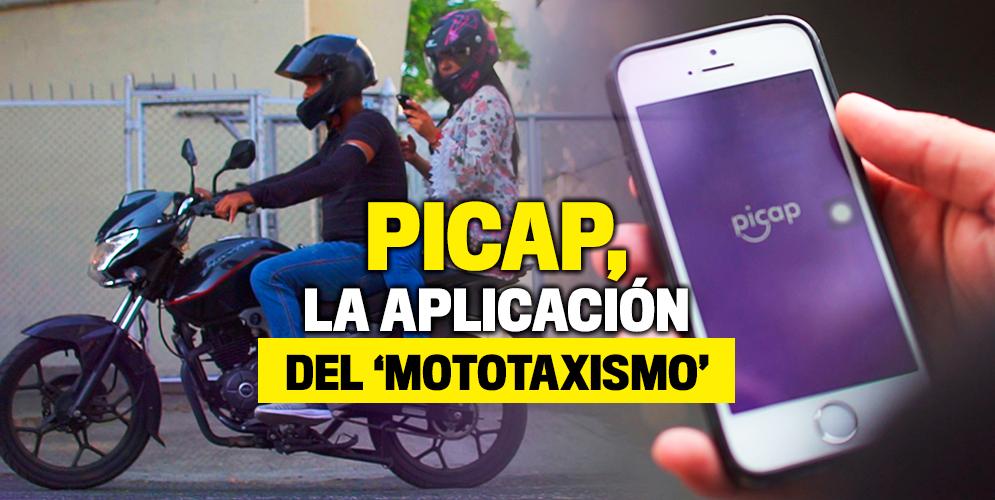 Así funciona Picap, la aplicación del 'mototaxismo'