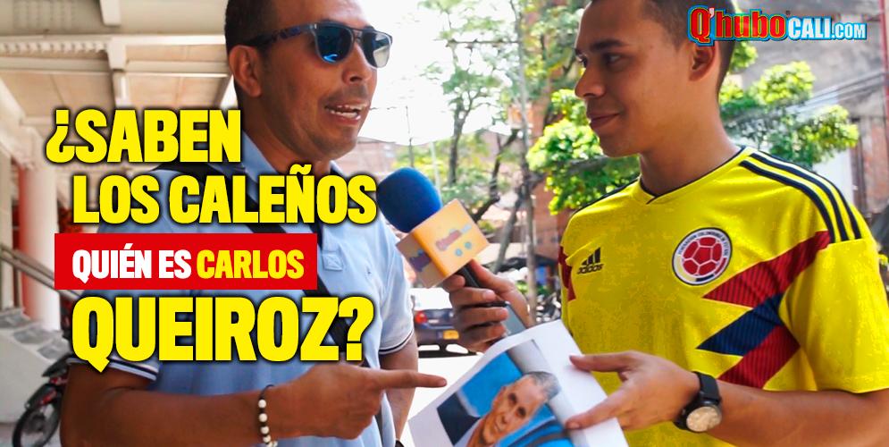 ¿Saben los caleños quién es Carlos Queiroz?