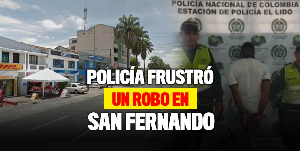 Policía frustó robo en el barrio San Fernando