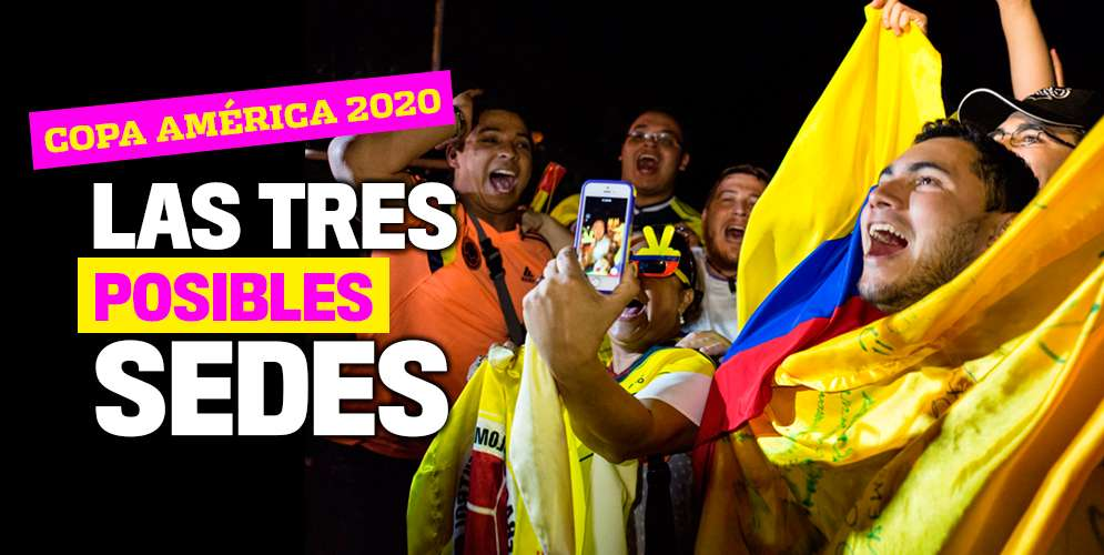 Las ciudades colombianas posibles a ser sedes en la Copa América 2020