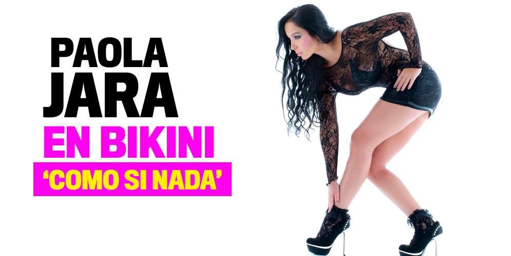 El 'cuerpazo' que se manda Paola Jara