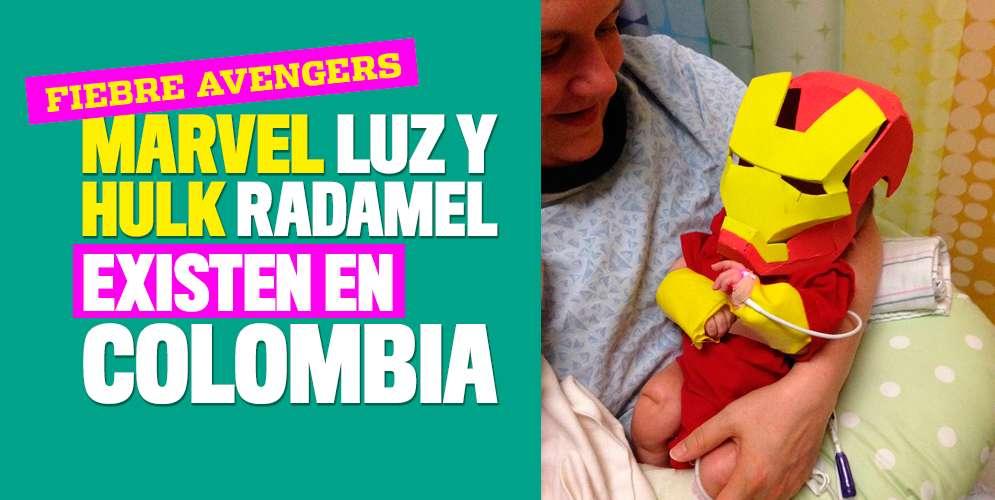 Las colombianadas de los nombres tipo 'Avengers'