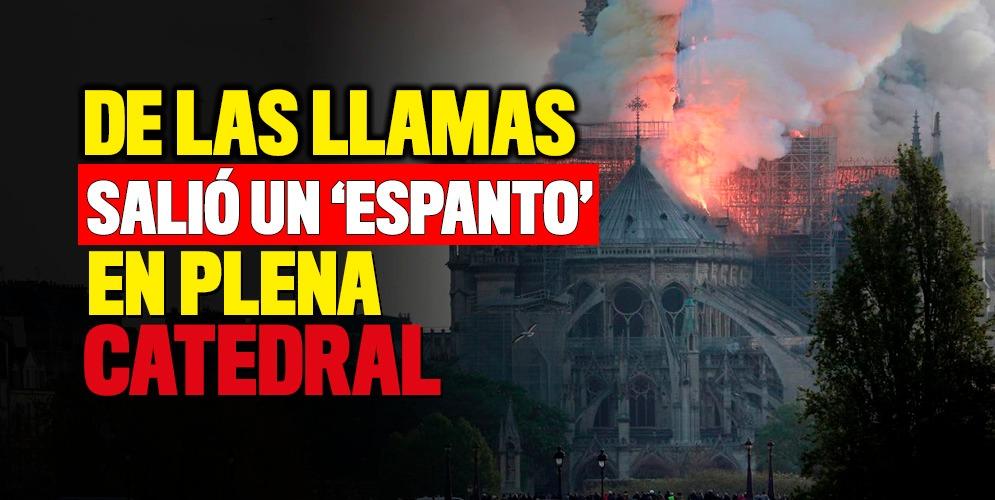 ¿Un pacto con el diablo selló el incendio de la Catedral de Notre Dame?