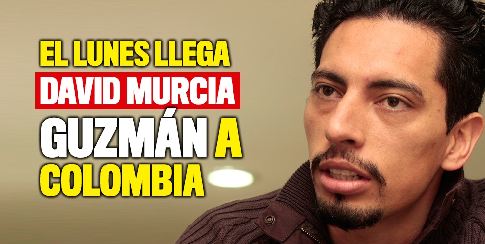 David Murcia Guzmán llegará a Colombia el 29 de abril