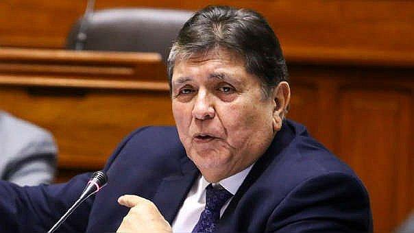 Expresidente peruano Alan García en estado crítico