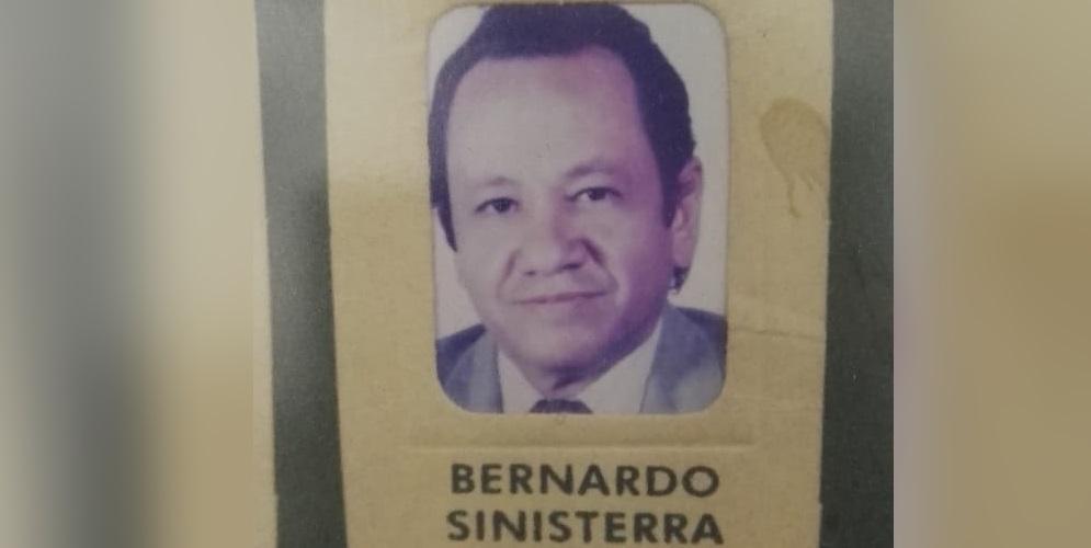 Murió el exconcejal Bernardo Sinisterra