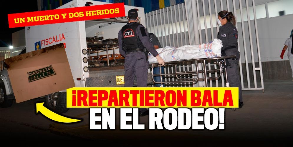 Un venezolano muerto y dos heridos en El Rodeo
