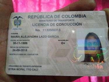 Apareció la licencia de conducir de Maira Lazo