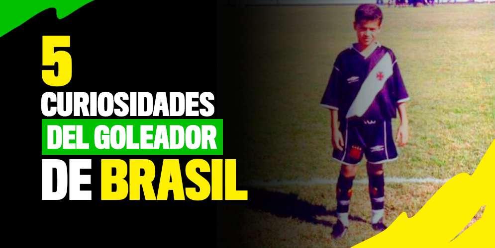 Los 5 secretos más sorprendentes del goleador de Brasil