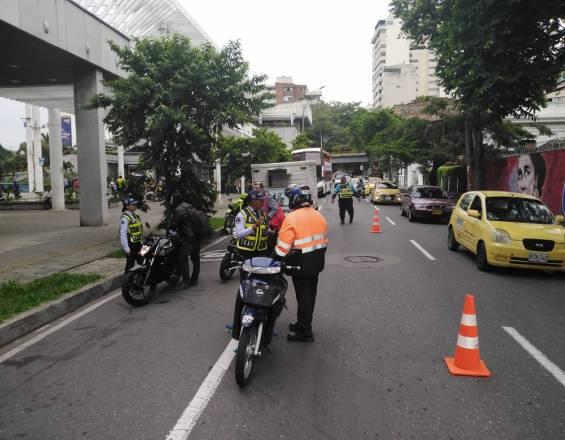 Así serán los operativos del Tránsito para el partido de Colombia