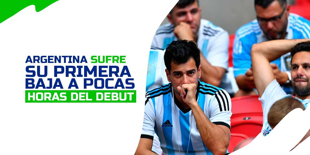 Uno de los porteros de Argentina se pierde la Copa América por lesión