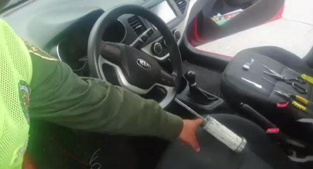 ¡Así están robando los carros ahora!