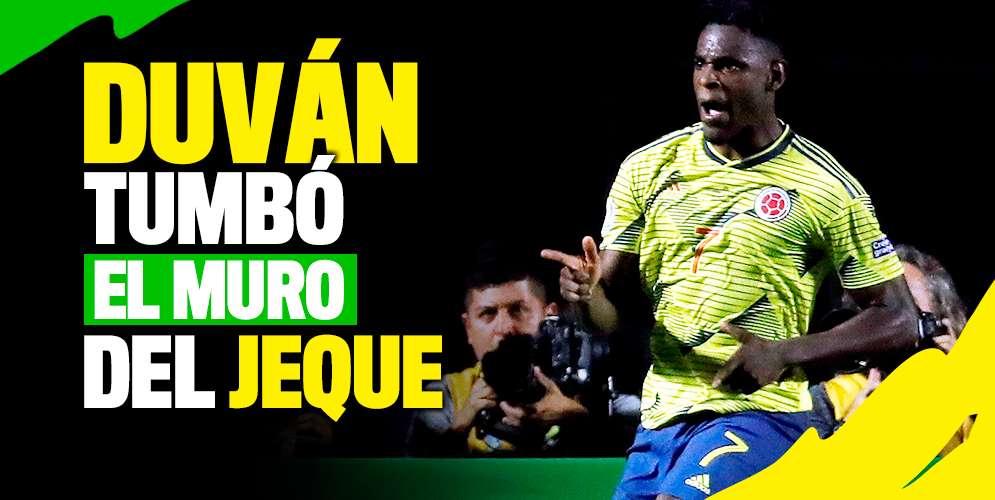 Duván Zapata, la carta de gol de la Selección Colombia