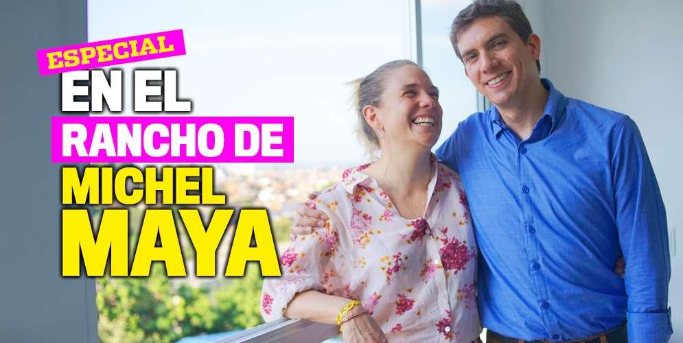En la casa de Michel Maya, candidato a la Alcaldía de Cali, se anda descalzo