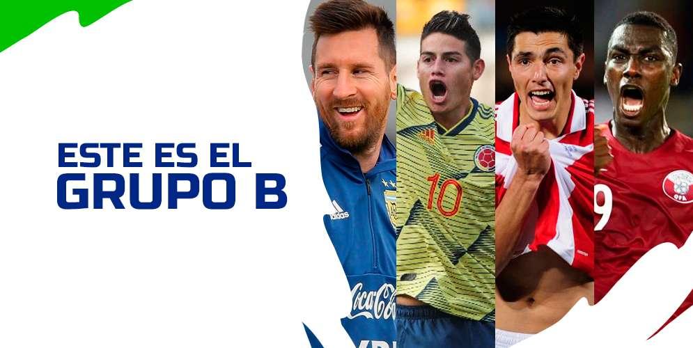 Colombia y Argentina en la lucha por el Grupo B