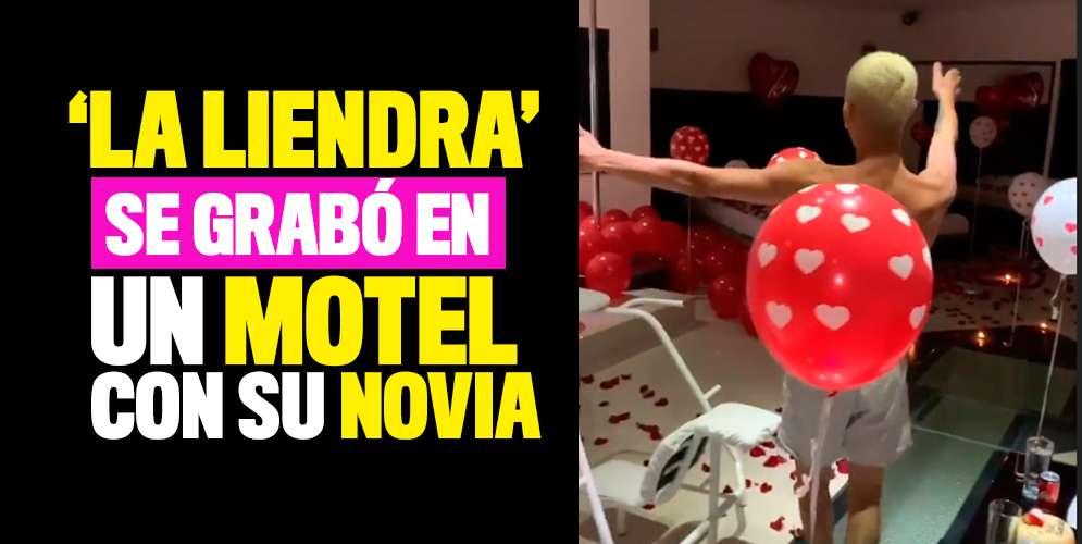 'La Liendra' celebró su cumple en un motel y lo grabó