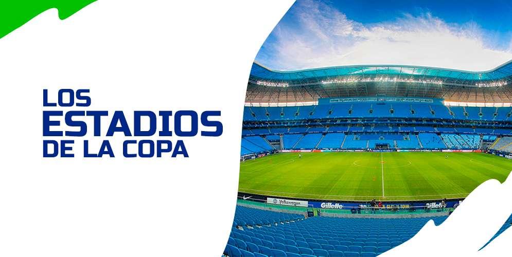 Los estadios donde se vivirán las alegrías  de la Copa América Brasil 2019
