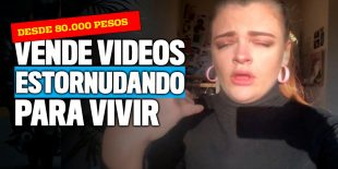 ¡Vende videos suyos estornudando!