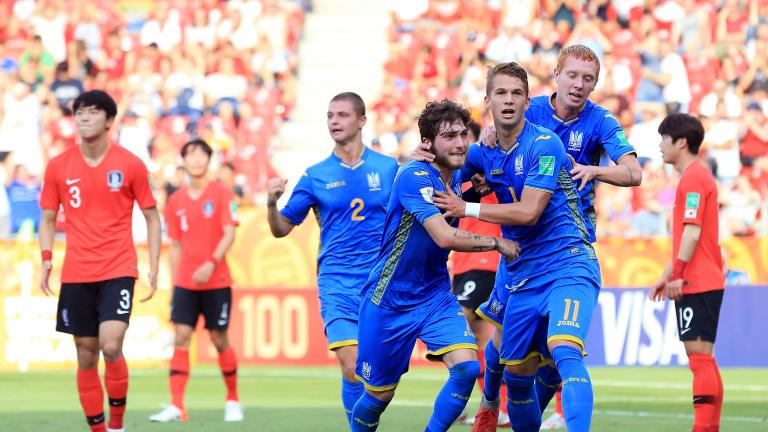 Ucrania es el campeón del mundial Sub 20