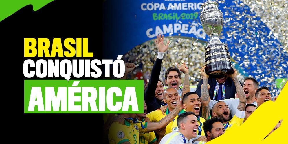 Brasil derrotó a Perú y se quedó con la Copa América