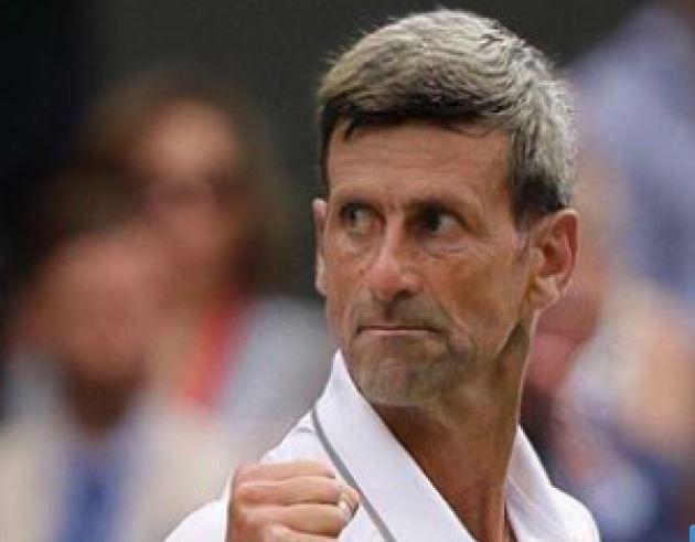 El tenista Novak Djokovic.