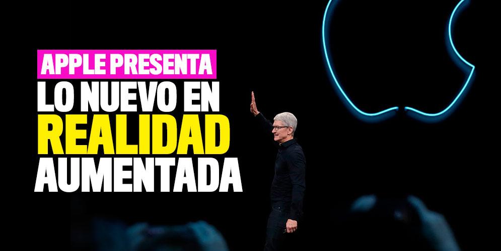 Apple presenta en Miami lo nuevo en realidad aumentada