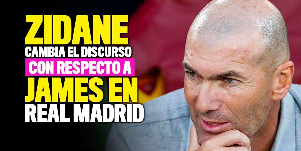 Zinedine Zidane: James y Bale son jugadores de la plantilla, debo contar con ellos