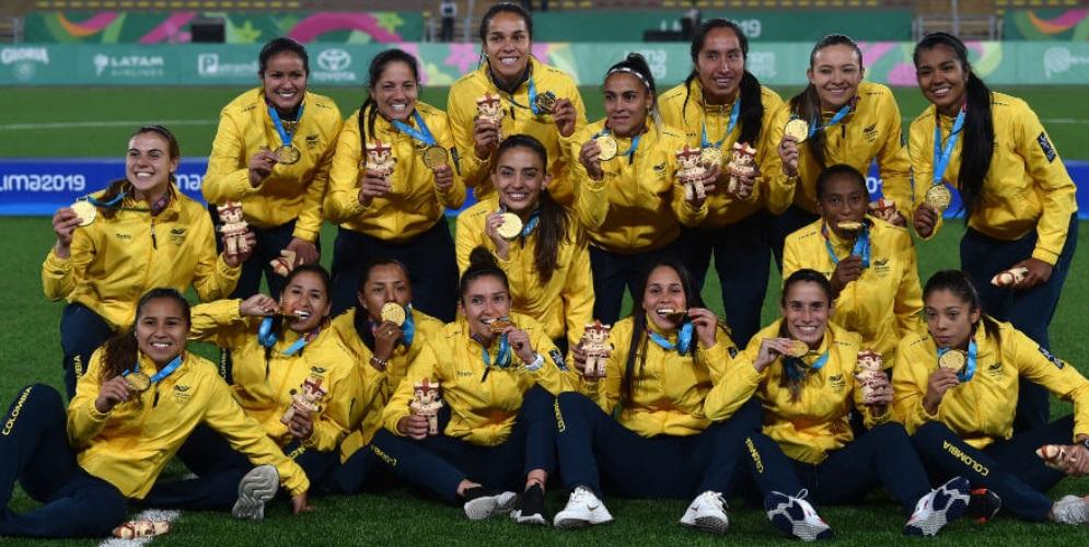 ¡Histórico! Las colombianas conquistaron el oro en los Juegos Panamericanos