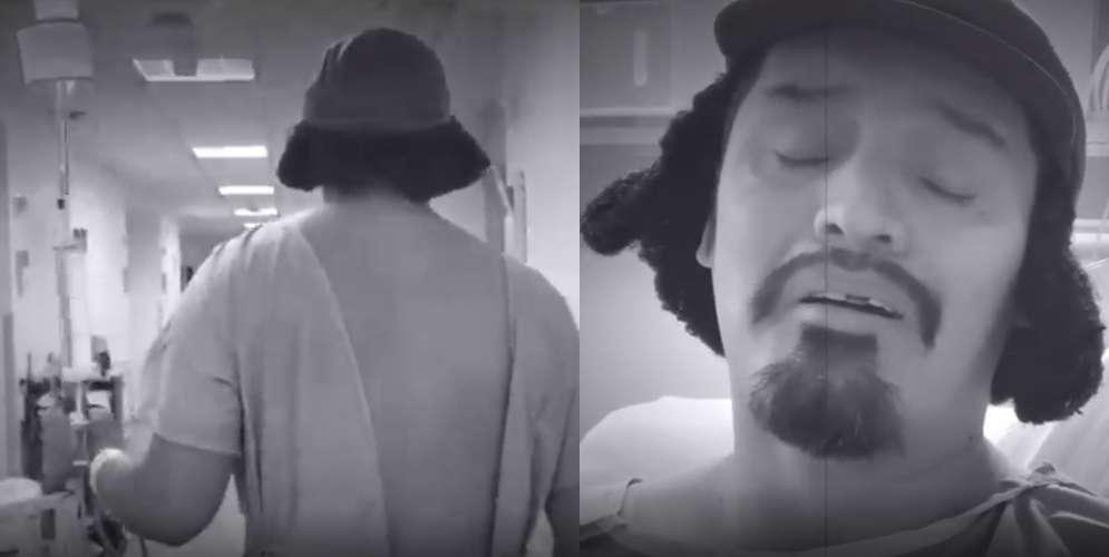 El video con elque Hassam anunció que lucha contra el cáncer