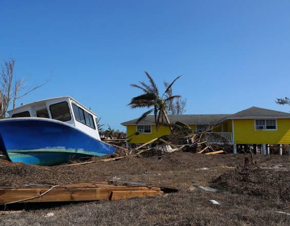 7.000 millones de dólares en daños dejó el huracán Dorian