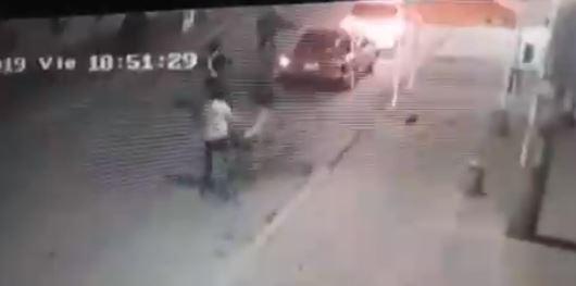 VIDEO: ¡Increíble! Ahora los sicarios también matan en 'cicla'