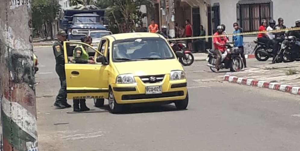 ¡Última hora! Mataron a un taxista en el barrio Municipal