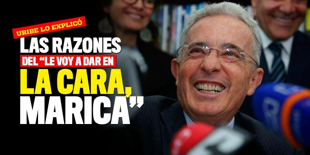 Álvaro Uribe explicó su frase: