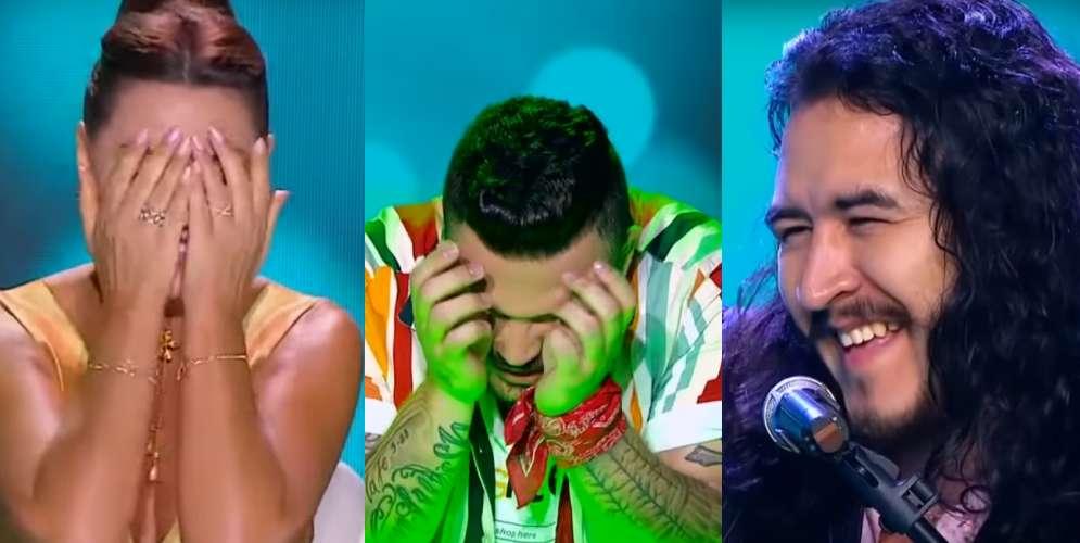 'El Cigala' de 'Yo me llamo' puso a llorar a Jessi Uribe y Amparo Grisales