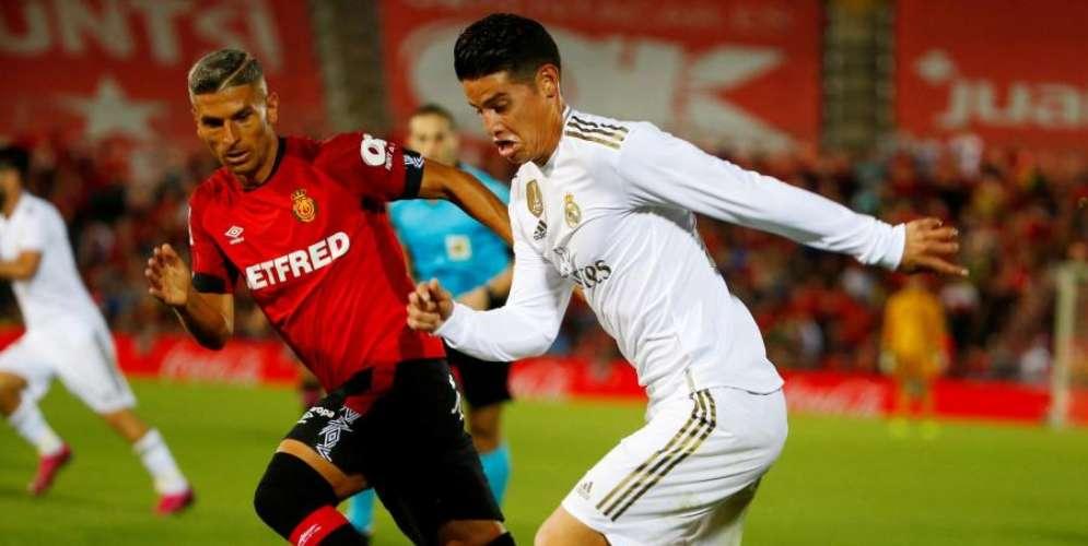 James no pudo salvar al Real Madrid de la derrota ante el Mallorca