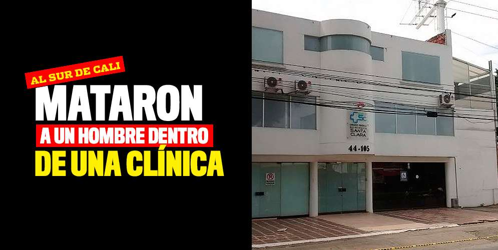 Última hora: mataron a un hombre dentro de una clínica