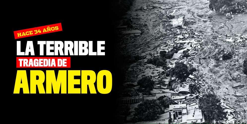 Se conmemoran 34 años de la tragedia de Armero