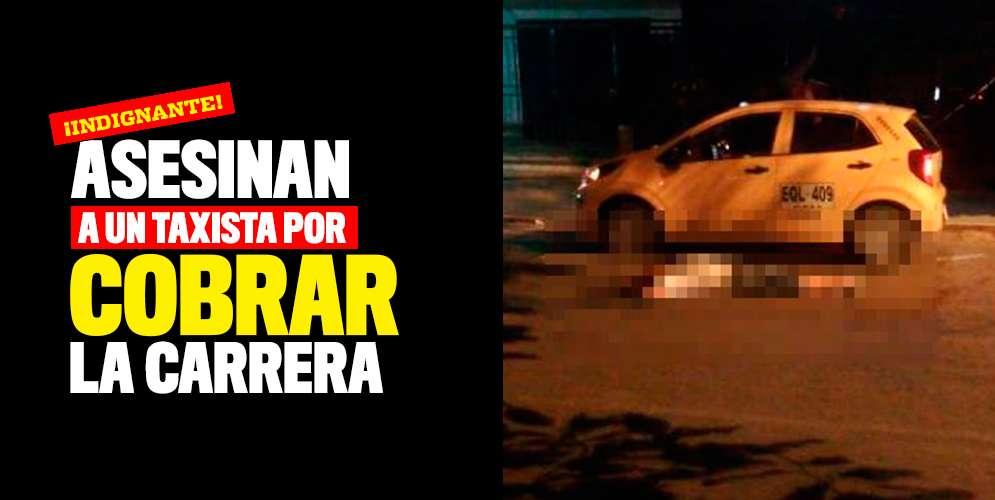 Asesinan a un taxista por cobrar la carrera en el barrio San Luis
