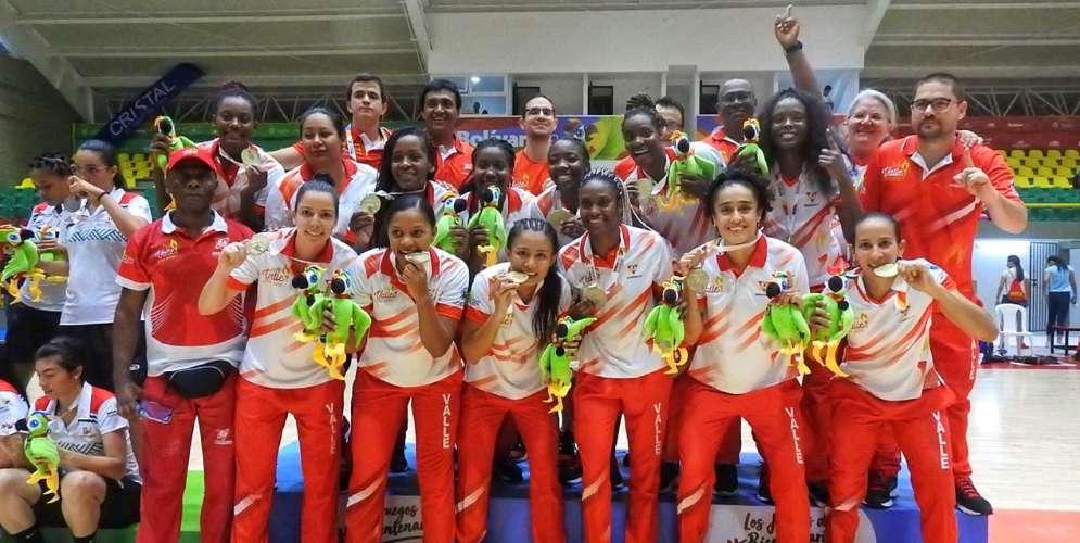 ¡Invictas y campeonas! Oro para el Valle en baloncesto femenino