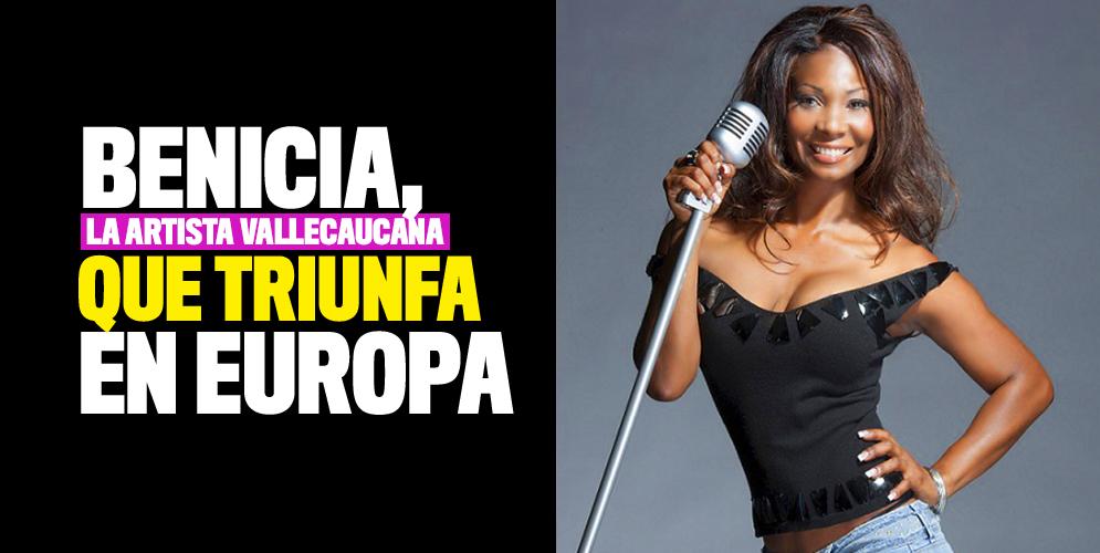 Benicia Cárdenas, la artista vallecaucana que triunfa en Europa