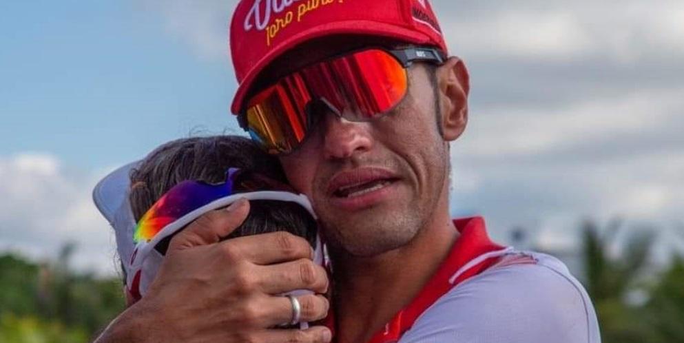 La historia de amor de Edwin y Diana, ciclista y triatleta vallecaucana