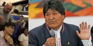 VIDEO: Pasajeros insultaron a familiar de Evo Morales en pleno vuelo