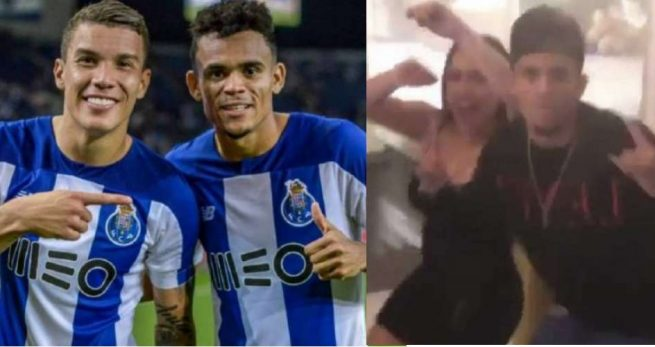 VIDEO: La rumba de Mateus Uribe y Luis Diaz salió muy cara