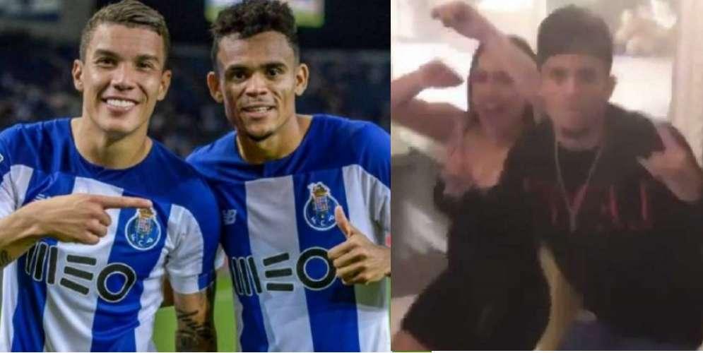 VIDEO: La rumba de Mateus Uribe y Luis Diaz salió muy cara