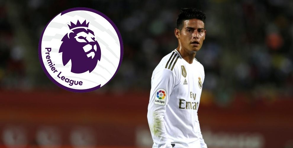 Los clubes de Inglaterra que tienen en la mira a James Rodríguez