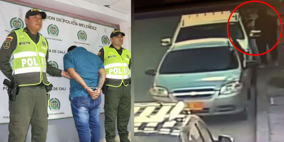 VIDEO: Lo cogieron robándose un carro fúnebre
