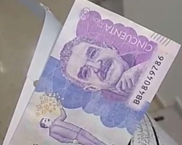 Así están metiendo los billetes 'chimbos', ¡Tenga cu...